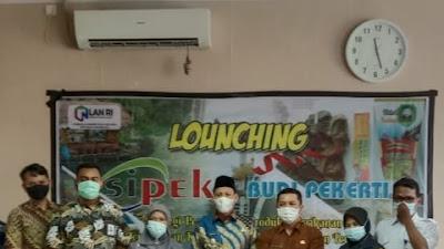 Wabup Pasaman Sabar AS Hadiri Launching Sipeka Budipekerti