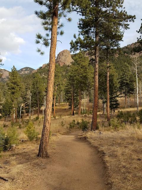 Early Morning Run - Staunton State Park trail