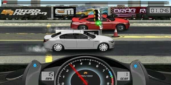تحميل لعبة drag racing مهكرة