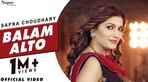 Balam Alto Lyrics in Hindi, Vandana Jangir