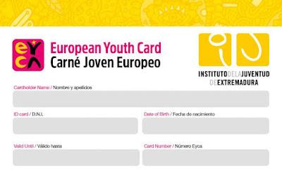Solicita el Carné Joven Europeo