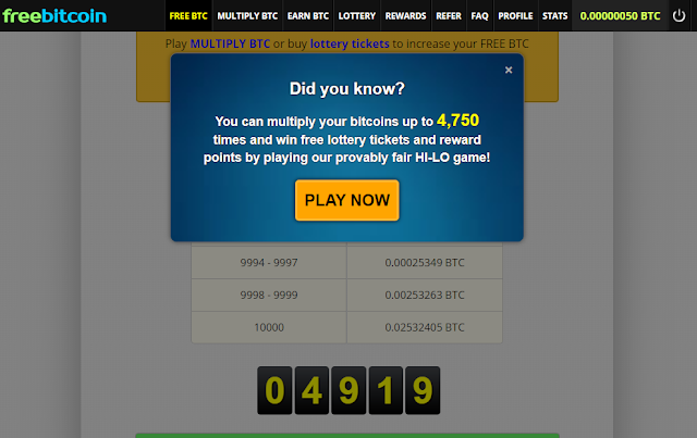 Cara Mendapatkan Bitcoin secara Gratis
