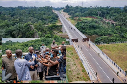 Completed : Bridge Linking Nigeria and Cameroon [Photos]