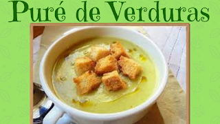 pure de verduras saludable.receta saludable