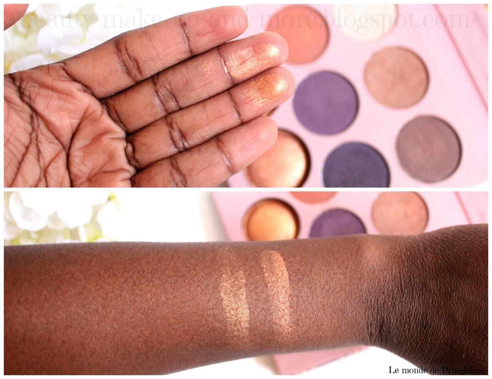 Revue de la Palette de Missy Lynn en collaboration avec BH Cosmetics