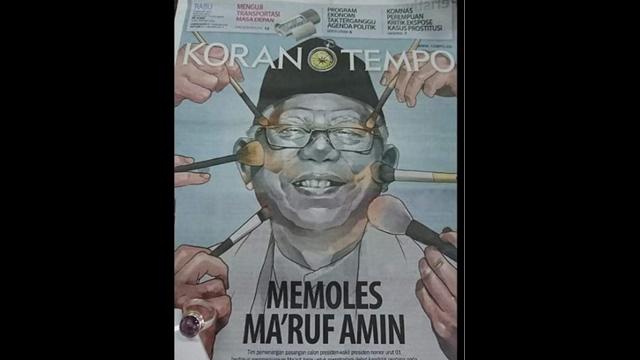 TKN Sibuk Memoles Ma'ruf Amin untuk Tampil di Debat Pilpres