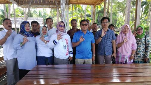 Konsolidasi Caleg Partai Gerindra Selayar, Ini Pesan, Idris Manggabarani