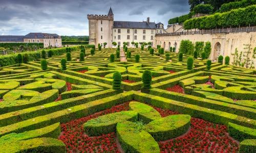 Gardens of Chateau Villandry, Prancis