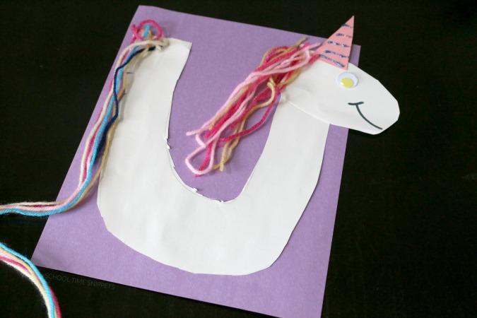 unicorn craft for preschoolers