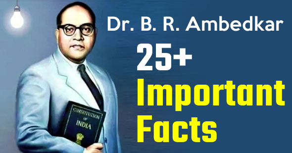 Dr. B. R. Ambedkar : Some Important Facts