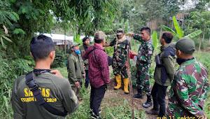 Terlihat Air Dicemari Kotoran, Sektor 22 Sub 11 Interogasi Peternak Sapi Cilengkrang