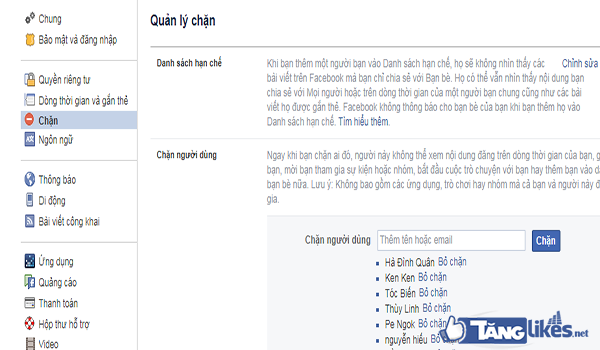 chan tai khoan facebook 2