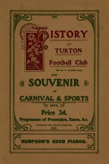 History of Turton Football Club