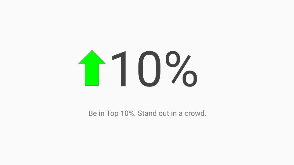 stand out in crowd