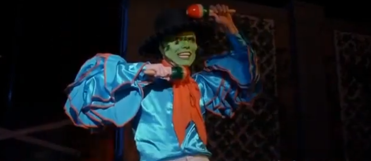 Джим Керри танец маски