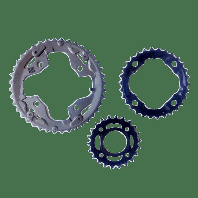 Chainring Shimano Alivio (1 Set/3 buah)