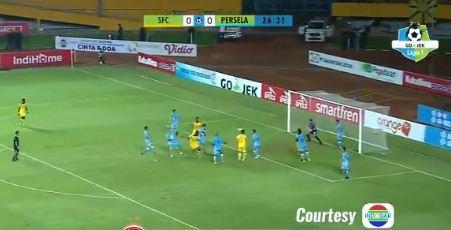 Sriwijaya FC vs Persela Lamongan 5-1 Hasil Liga Minggu 2 Juni 2018