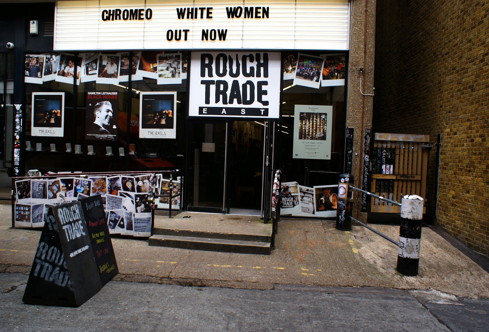 rough trade east brick lane london spitalfields united kingdom uk europe