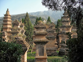 Pagoda Forest Shaolin Temple.