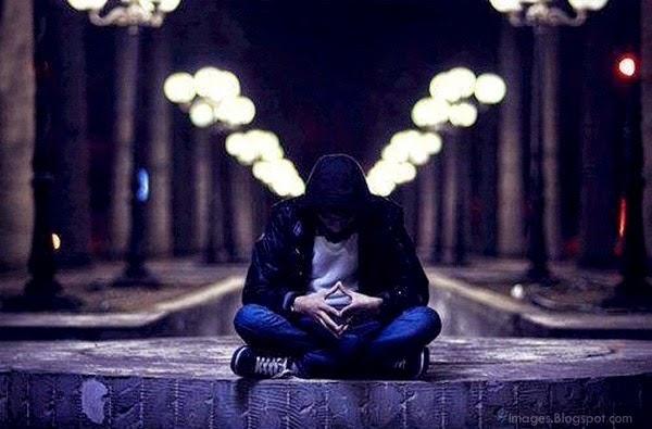 Alone sad boy crying fall emotions feeling