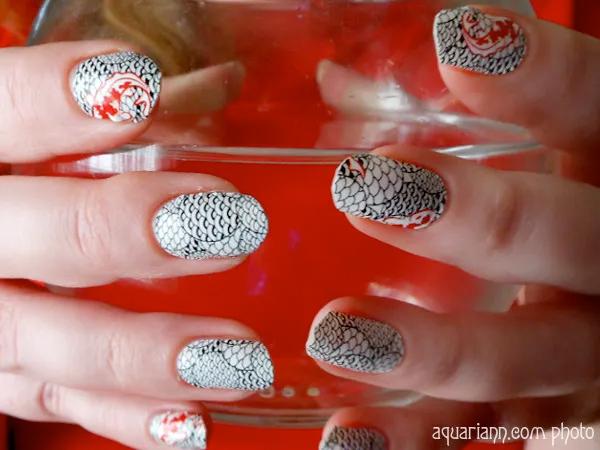 Koi Fish Nail Polish Strips by Sally Hansen