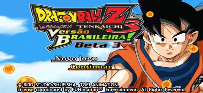 Dragon Ball Z Budokai Tenkaichi 3 Mod PSP ISO Version Brasileira