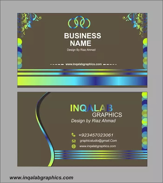 Business Cards | Free Vector Templates Cdr Format Download