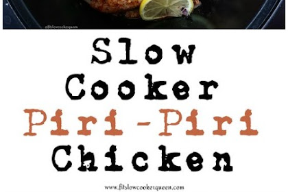 SLOW COOKER PIRI-PIRI CHICKEN (PALEO,WHOLE30,LOW-CARB)