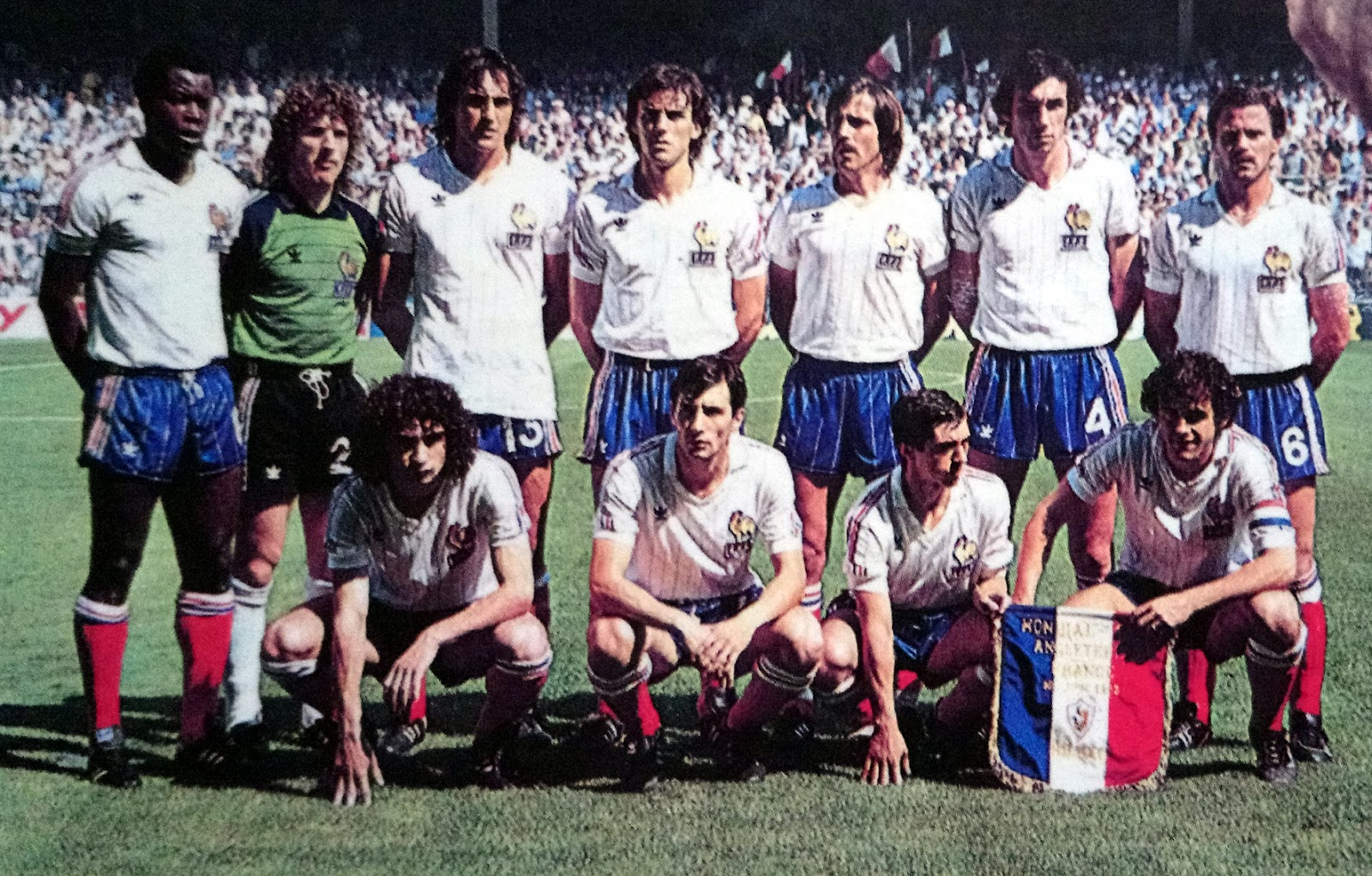 France angleterre 1982 the vintage football club - Coupe du monde france allemagne 1982 ...