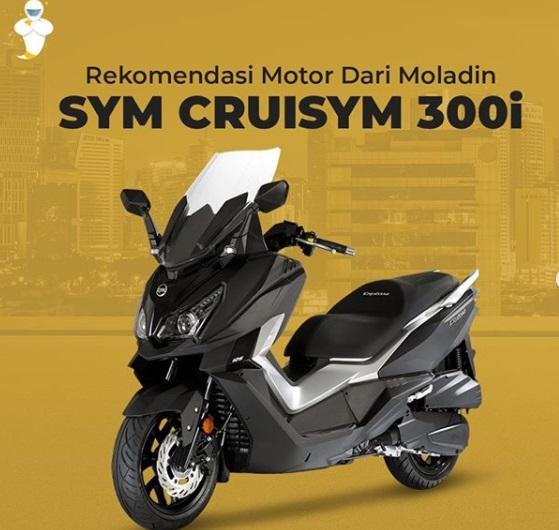 SYM Cruisym 300i Rp 67,7 Juta