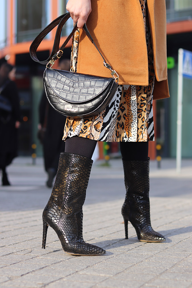 Torebka Fabiola i botki Marco Shoes
