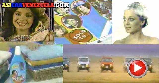 Una serie de comerciales de TV de 1983 con los que lloraremos recordando