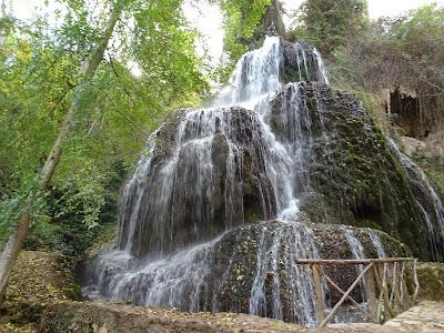 Cascada Trinidad en El Monasterio de Piedra