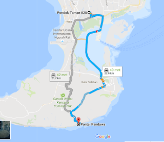 lokasi pantai pandawa