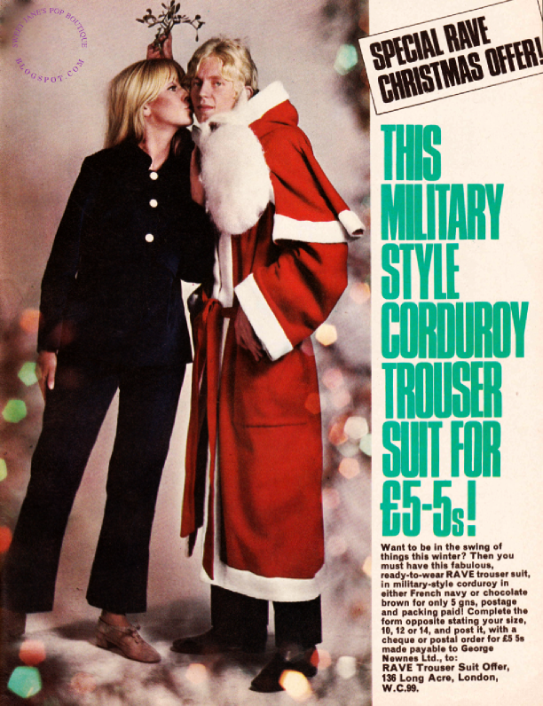 1960s Christmas fashion