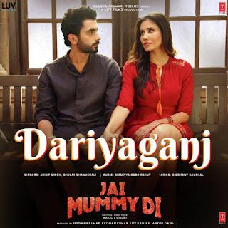 Dariyaganj Lyrics in hindi Arijit Singh