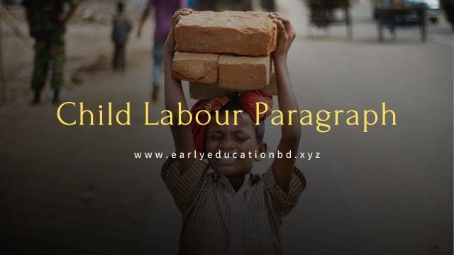 Short Paragraph on Child Labour Updated in 2021 | EEB