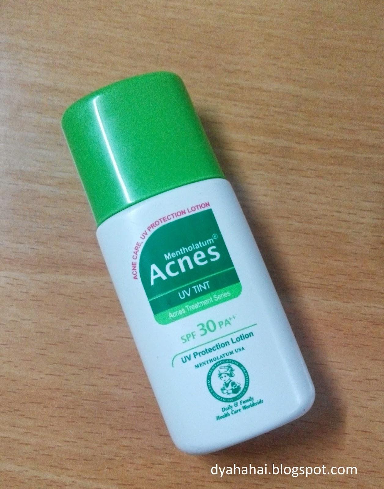 Review Acnes Uv Tint : review, acnes, Gado-Gado:, Review:, Acnes