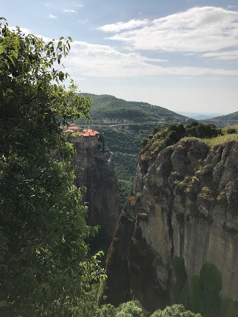 Meteora Monasteries in the Clouds
