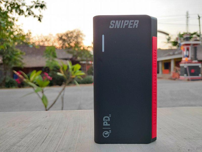 Sniper PowerShoot S111571 20.000mAh Review, Power Bank Jumbo dengan Harga Terjangkau