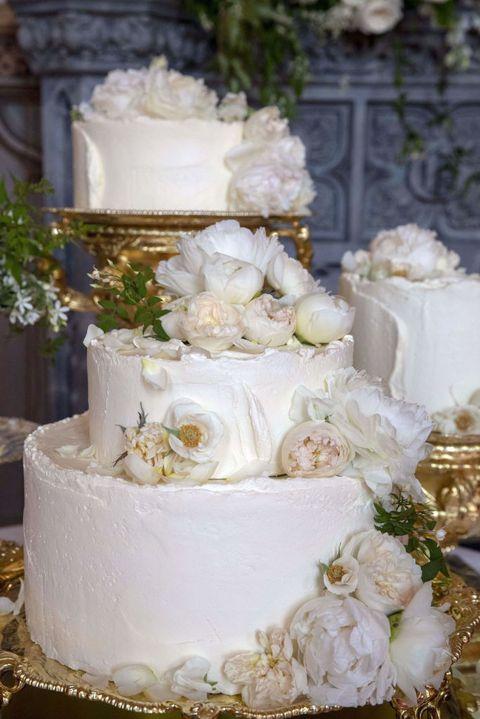 Gâteau de mariage de Meghan et Harry réalisé par Claire Ptak. Source : Getty Images