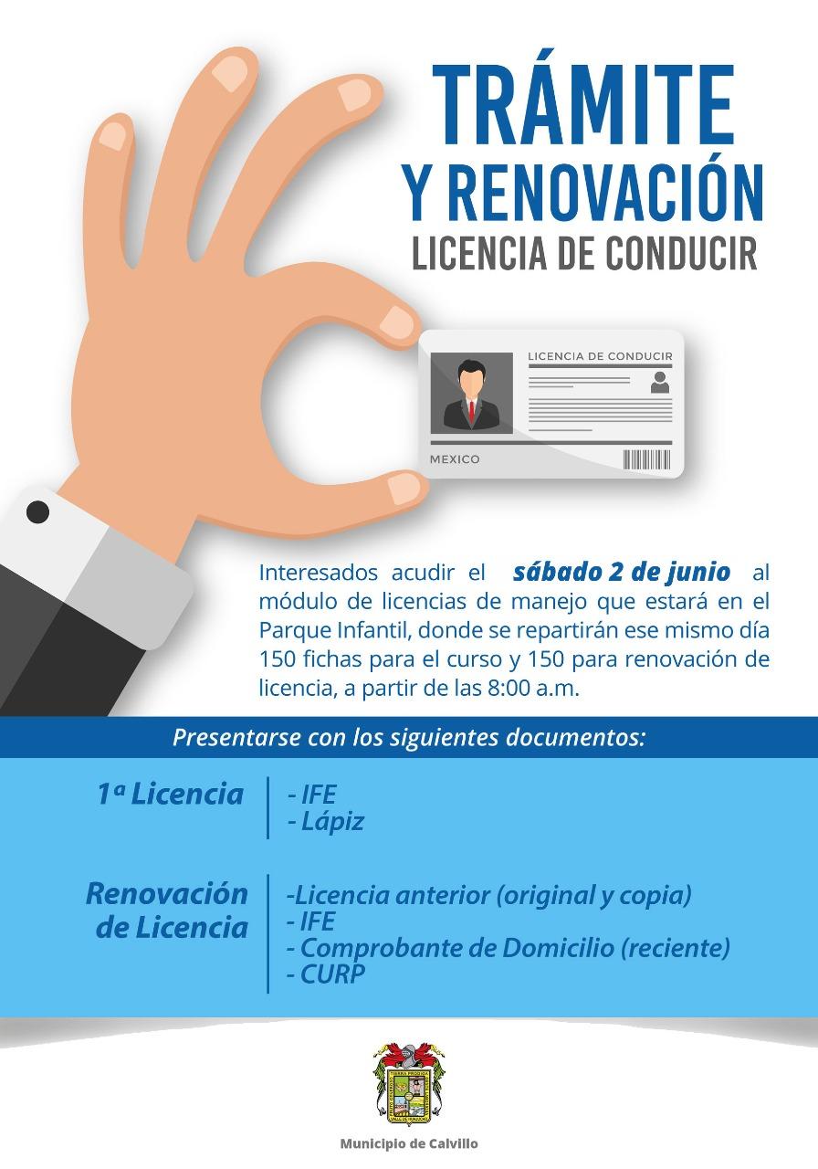 Trámite Y Renovación De La Licencia De Conducir En El