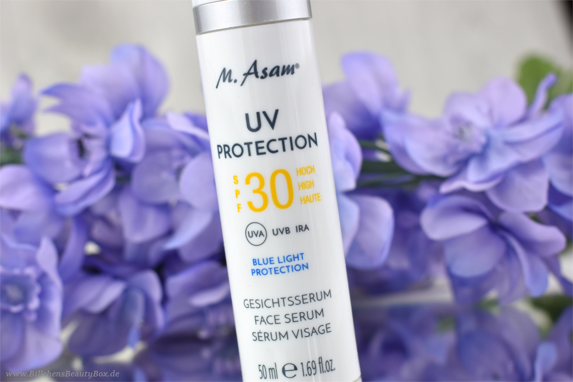 M. Asam - UV Protection Gesichtsserum SPF 30 - Review