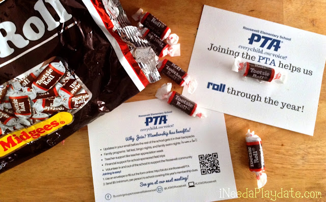Joining the PTA helps us ROLL through the year!