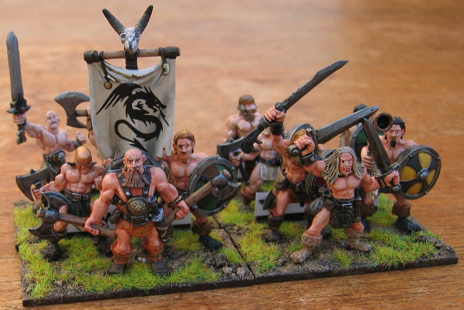 Colgar6 And The Infinite Legion Of Toy Soldiers December Oddments Cerci Speed Circuit Pacer Relic Knights Ebay Finally Here Are Some More Barbarian Warband Elements Figures All 28mm Castings From Black Tree Design Though This Time There