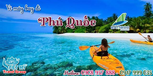 Bay Phú Quốc giá rẻ hãng Bamboo Airways