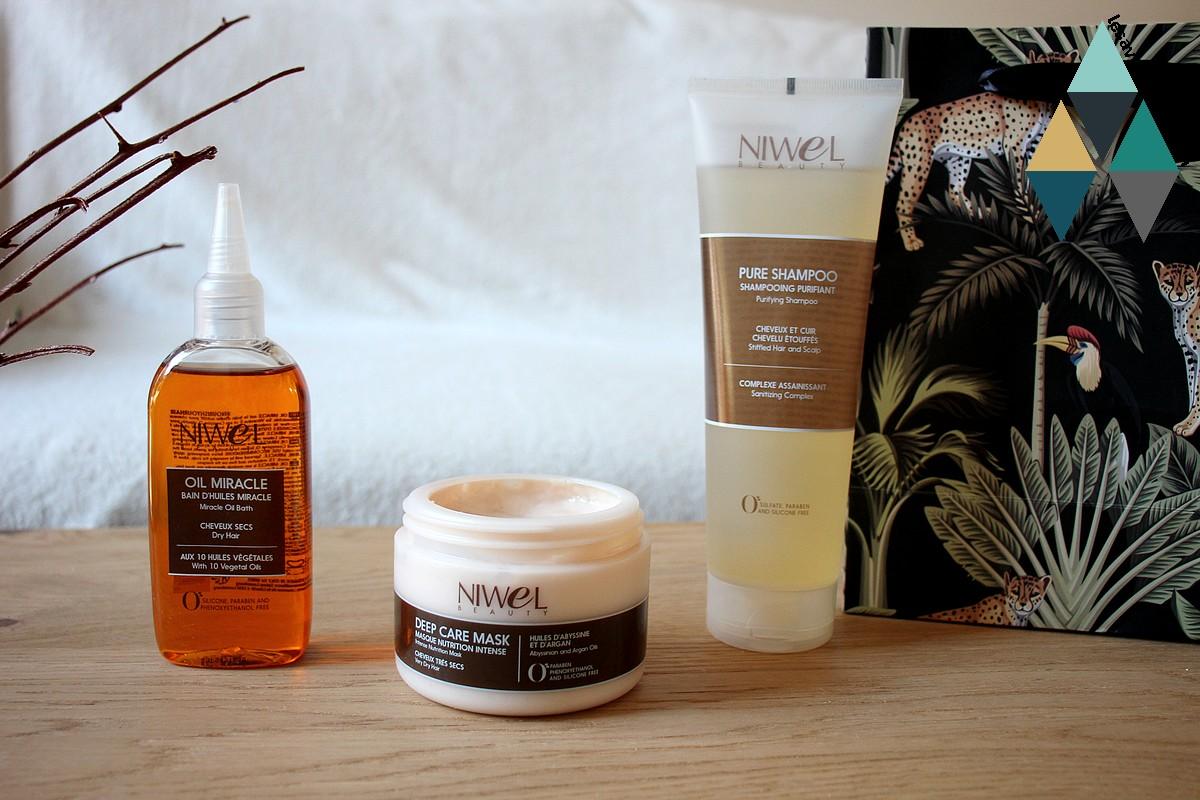 avis et test soins capillaires cheveux texturés niwel les essentiels