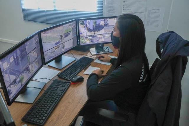 Senador Canedo: Videomonitoramento auxilia forças de segurança no combate à criminalidade