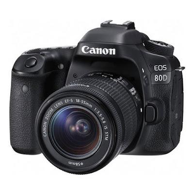 Canon EOS 80D DSLRダウンロードフルドライバー