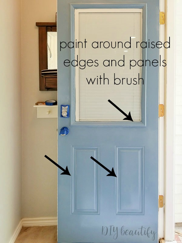 painting an entry door